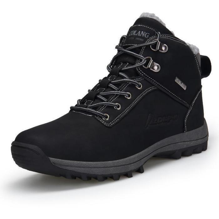 Plush Warm Winter  Big Size Anti Skidding Winter Boots
