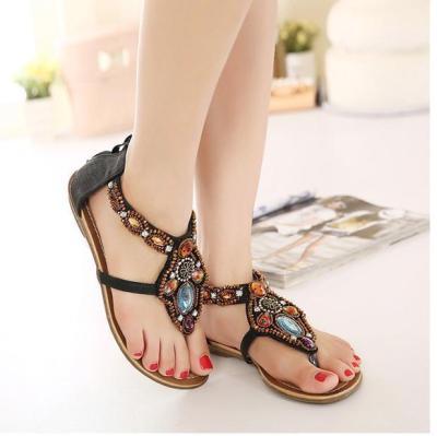 Bohemia Style Sandal Flat Beach Shoes