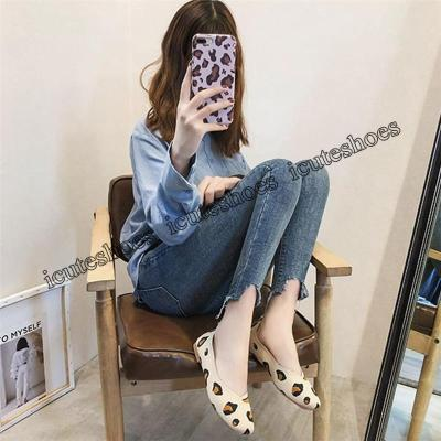 Flat Shoes Woman Casual Loafers Ladies Oxfords Women Shoes Flats Slip on Leopard