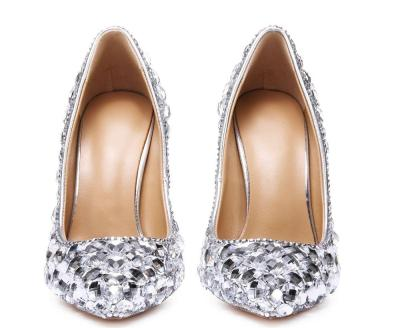 High Heel Rhinestone Date Pointed Toe Shoes