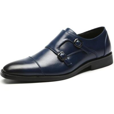 Casual business square head shoes