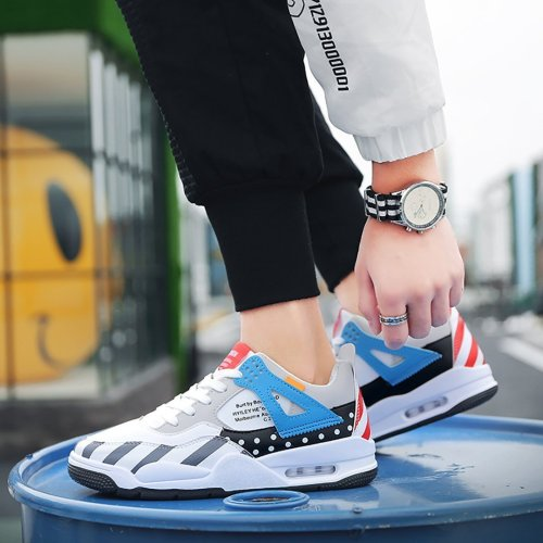 Men's trend air cushion sports running casual shoes