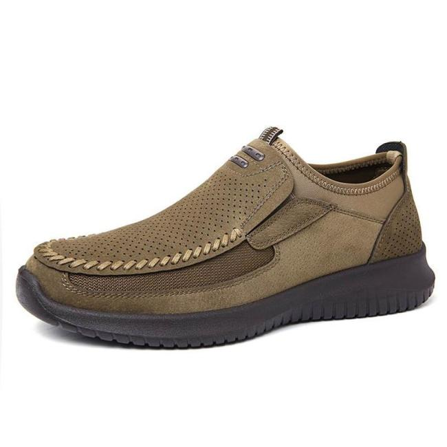 Breathable Microfiber Leather Casual Shoes