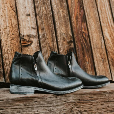 Men's Fashion   Low Heel Casual Boots