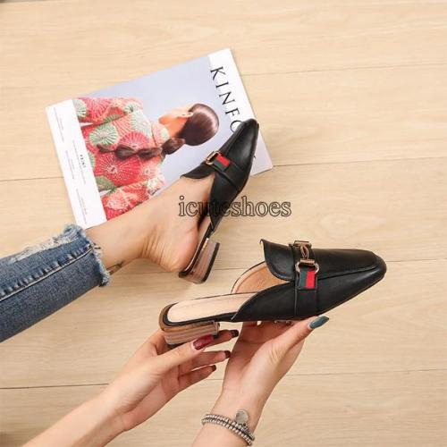 New Summer Single-shoe Women's Women's Shoes Cross-border Half Slippers Women's One-piece