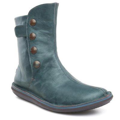 Flat Heel Spring/fall Mid-calf Boots