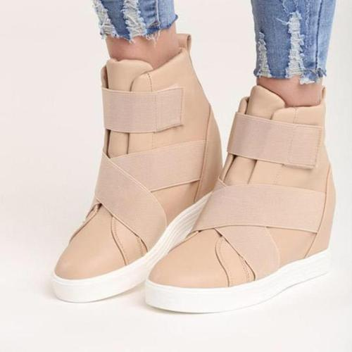 Warm Inside High Wedge Heels Sneakers