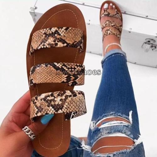 women fashion non-slip outdoor slippers sandals flat bottom ladies slippers