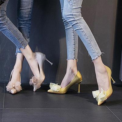 Stiletto Heel Bowknot Party & Evening Heels