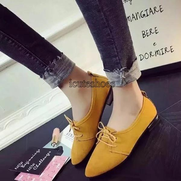 Single Shoe Women's 2020 Spring New Shoes Pointed Shoes Flat Women's Shoes
