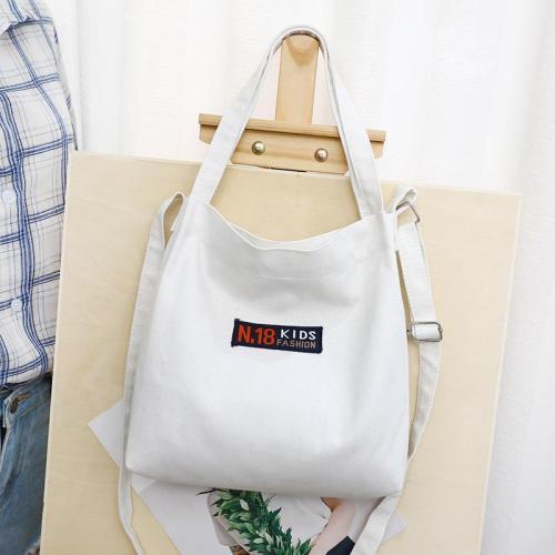 Simple Design Multifunction Canvas Tote Bag