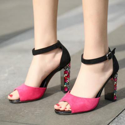 Summer Daily Rhinestone Sandals
