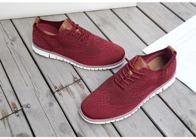 Wild Trend Brock Flying Woven Mesh Men's Shoes Breathable Casual Shoes