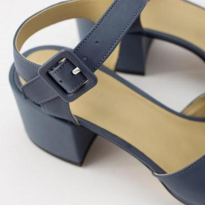 High Heel Waterproof Buckle With Baotou Sandals