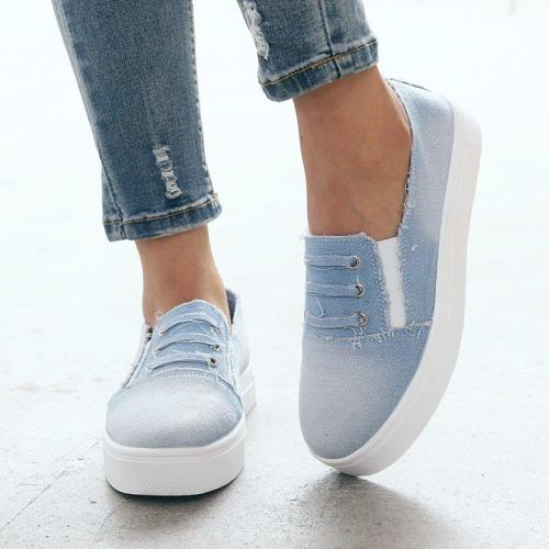 Casual Summer Canvas Sneakers
