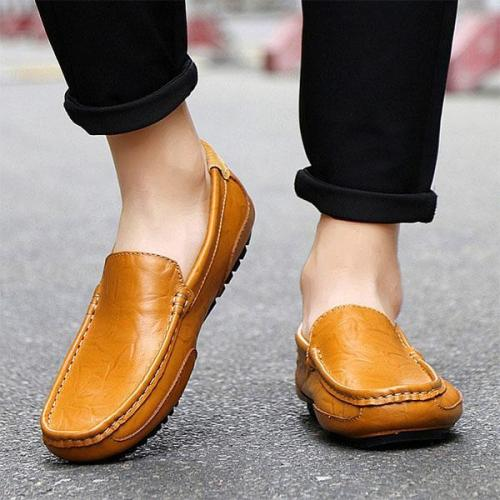 Mens Beanie Shoes Casual Trend Beanie Shoes Flats