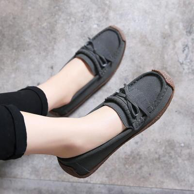Women New Fashion Plush Shoes Non-Slip Bottom Loafers Soft Shoes