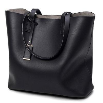 High-end PU Leather Tote Bag Handbag Vintage Shoulder Bag