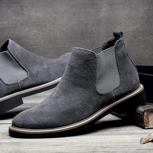Casual Men's Squadron Helps Martin's Men Boots Polish Chelsea's Men Boots