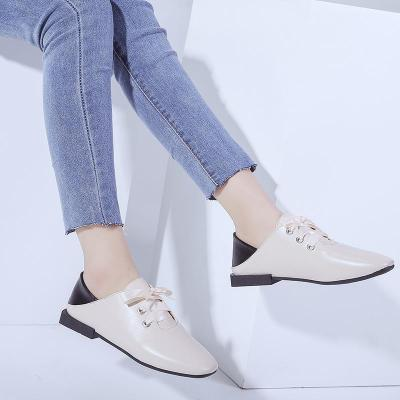 Chic Square Toed Plain Strappy Flat Shoes