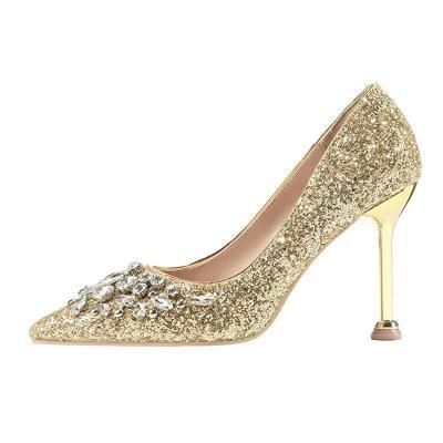 Rhinestone Party & Evening Elegant Heels