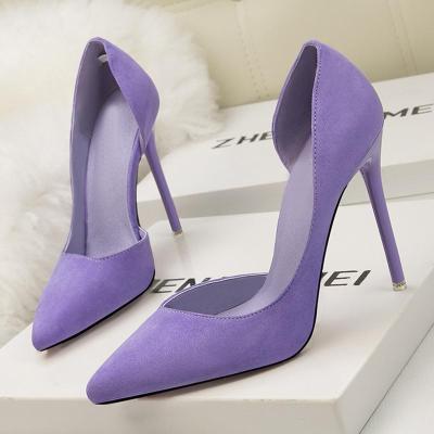 Summer/Spring Stiletto Heel Pointed Toe Elegant Shoes
