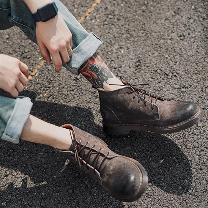 Men's British Retro Martin Boots
