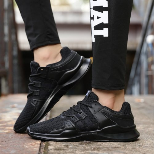 Fashion Casual Plain Breathable Strappy Sport Shoes