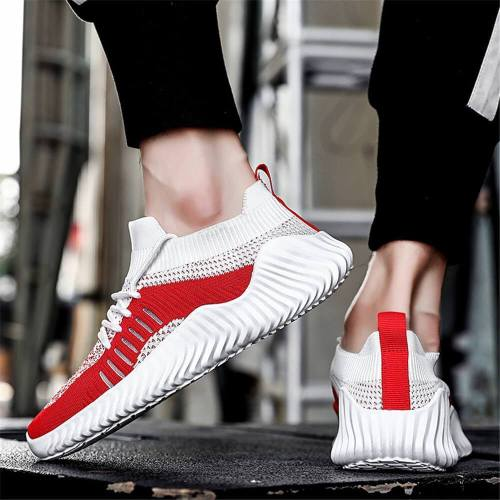 Men's Fashion Casual Color   Matching Breathable Sneakers