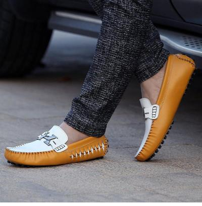 Men Moccasins Genuine Leather Loafers Shoes