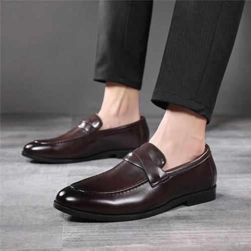 Solid Simple Slip on Casual Shoes