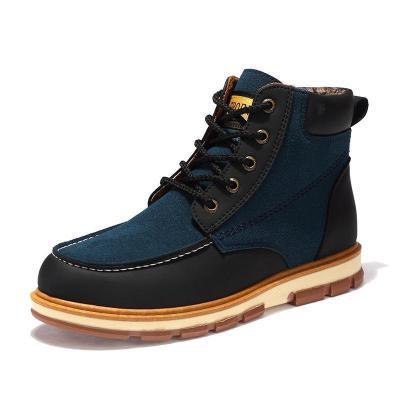 Pu Leather Ankle Men Boots Men Leisure Martin Winter Men Boots