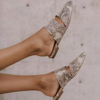 Women Versatile Simple Pointed Slippers