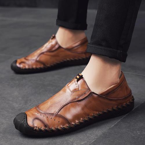 Men's Leisure Round Toe Shoes