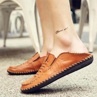 Mens Retro Stylish Upper Soft Casual Driving Shoes