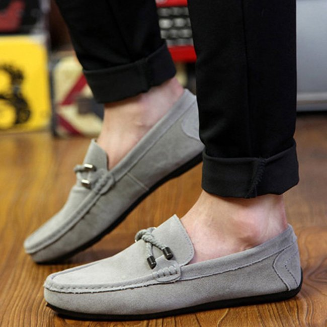 Fashion Dull Polish Plain Pointed Head Soft Bottom Casual Shoes
