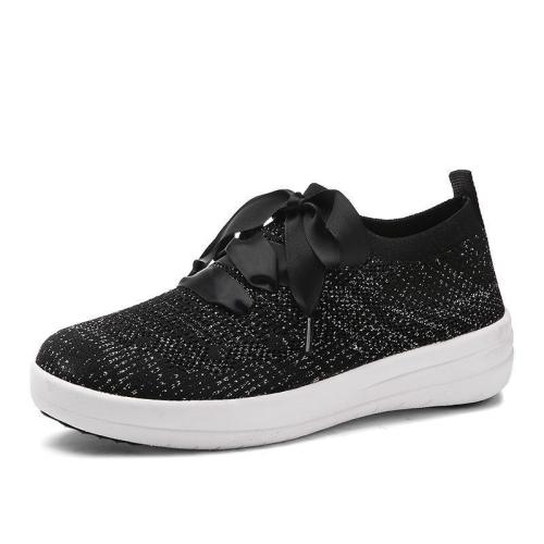 Women Breathable Mesh Ballet Flats Slip-on Sneakers