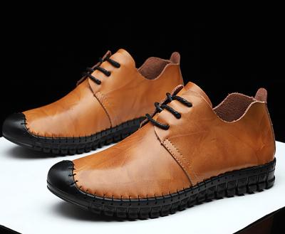 Men's versatile   comfortable casual leather shoes