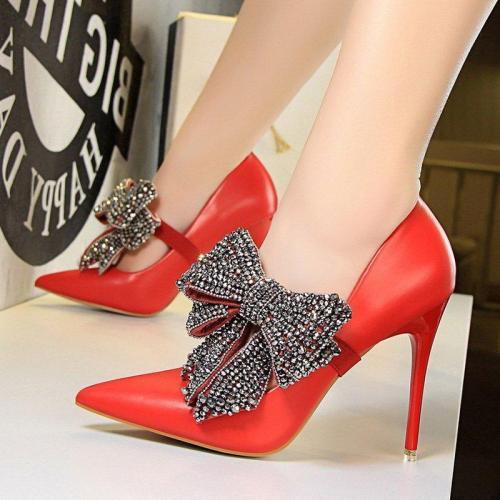 Work Stiletto Heel Elegant Shoes