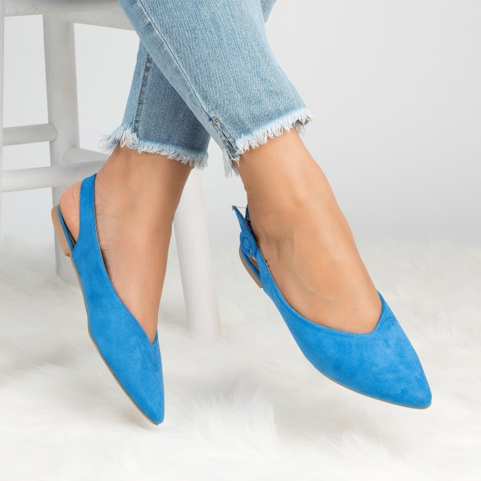 Slingback Pointed Flats