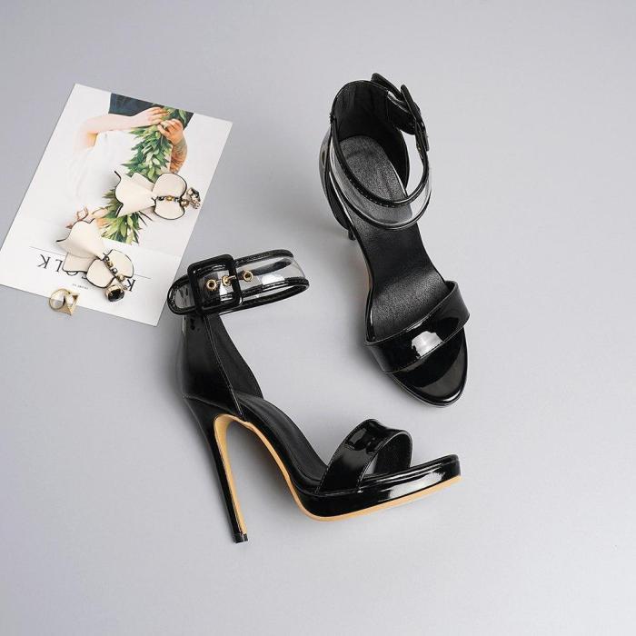 Women Sandals Sexy High Heels Summer Party Wedding Platform Shoes