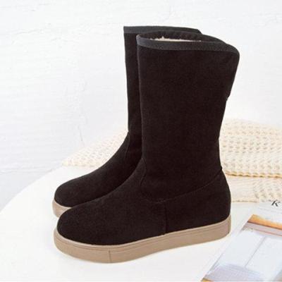 Women Low Heel Boots