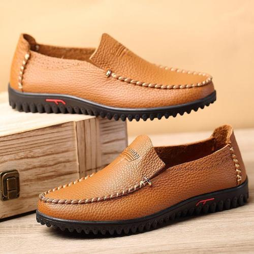 Men Slip On Soft Loafers Shoes