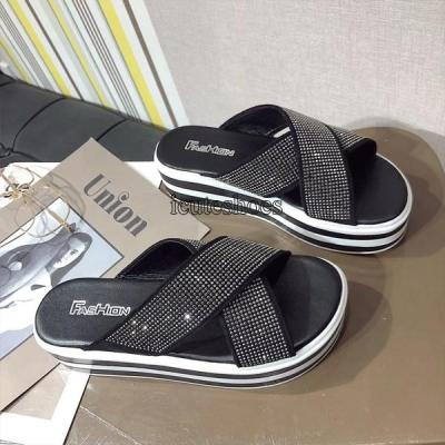 Cool Slippers Women's New Spring and Summer 2020 Women's Slippers Women's Shoes