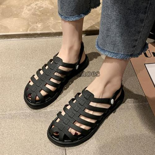 Solid Candy Color Female Holiday Beach Shoes Sandals Slides Shoe