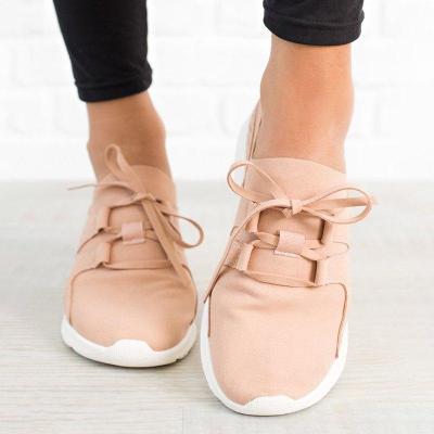 Flat Heel Daily Sneakers