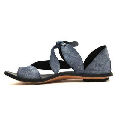 Women Bowknot Strap Flip-Flops Flat Heel Casual Summer Sandals