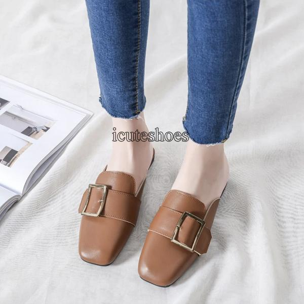 New Flat Slipper Women's Muller Shoes Fashion Shoes Summer