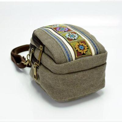 Vintage Casual Canvas Shoulder Bag Crossbody Bag
