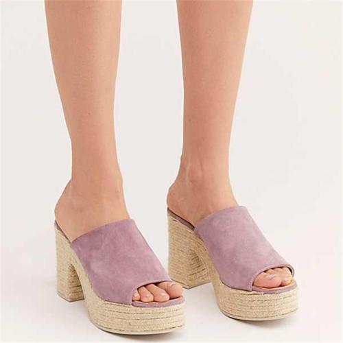 Summer High-Heeled Platform Wears Sandals